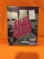 Fight Club (Blu-ray Disc, 2016, Includes Digital Copy SteelBook)- BRAND NEW