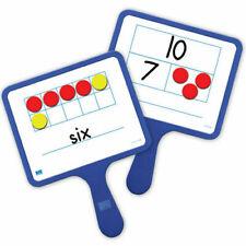 Eai Education Magnetic Ten Frame & Part-Part-Whole Dry-Erase Paddles kids