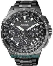 CITIZEN EcoDrive Watch,SATELLITETimekeeping,Pilot,WorldTime,WR200,Men,CC9025-51E