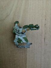 Warhammer 40k Valhallan Ice Warrior With Flamer Imperial Guard Metal