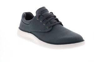 Skechers Status 2.0 Burbank 204083 Mens Gray Canvas Lifestyle Sneakers Shoes