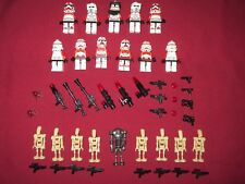 LEGO Star Wars Minifigures LOT Shock Troppers Special Opts ,Clones , Droids