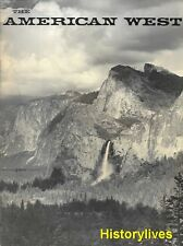 American West V6 N5 Ansel Adams Redwoods Pilgram's Pride National Parks TR Teddy