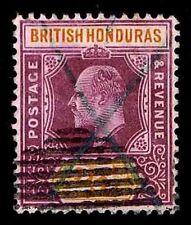 1906 BRITISH HONDURAS #67 KING EDWARD VII - USED  - VF - CV$55.00 (ESP#1804)