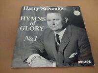 "HARRY SECOMBE "" HYMNS OF GLORY NO. 1 "" 7"" EP SINGLE P/S 1963 EX/EX"
