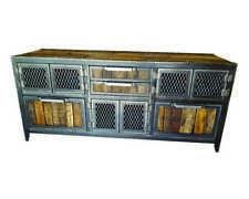Industrial Buffet/Console • Reclaimed Wood & Steel • #059ST