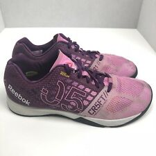 REEBOK Kevlar CROSSFIT NANO 5 training shoe Pink /Purple CR5FT Women 11 EUR 42.5
