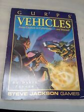 Gurps Vehicles: From Chariots to Cybertanks...and Beyond! by David L. Pulver...