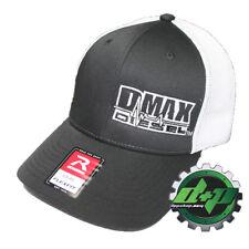 Duramax diesel Richardson 110 DMAX truck hat BLACK Flexfit white mesh back L/XL