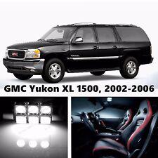 14pcs LED Xenon White Light Interior Package Kit for GMC Yukon XL 1500, -2006
