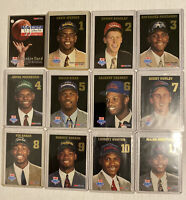 1993-94 Hoops 11-Card Draft Redemption Lottery Pick Set Chris Webber Hardaway RC