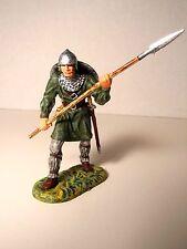 Elastolin 7cm-70mm Pro-Painted Norman with Spear, ELITE  ELASTOLIN CONVERSION