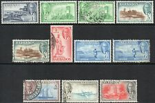 1950 Barbados Sg 271/78 Short Set of 8 Values Mounted Mint/Used