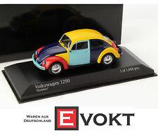 Minichamps Volkswagen VW Beetle 1200 Harlequin 1:43 Model Car Genuine New