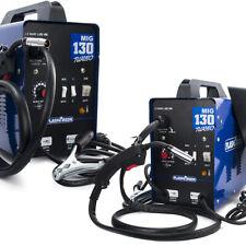 MIG Welder MAG Gassless Welding Machine No Gas IGBT Inverter 130A Welder 230V