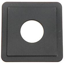 Arca Swiss 4x5 Lens Board 110mm x110mm Copal #1 Objektivplatte NEU