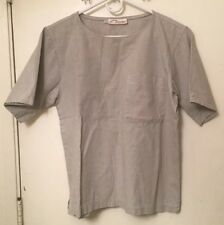 Norm Thompson Portland Oregon Women's Pull Over Short Sleeve Shirt  Size M