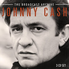 Johnny Cash : The Broadcast Archive CD (2016) ***NEW***