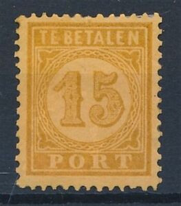 [34980] Dutch India 1874 Good postage due stamp Very Fine MH