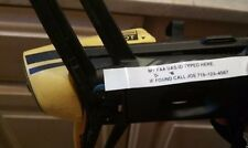 "3 FAA UAS Drone Quadcopter Registration sticker Parrot, DJI, Yuneec 1/2"" tape"