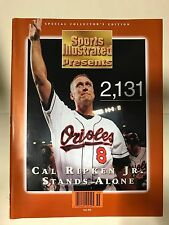 1995 Cal Ripken Jr. Baltimore Orioles #2131 Sports Illustrated Commemorative