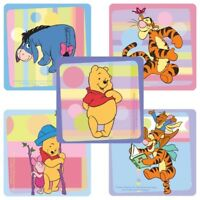 Winnie the Pooh Stickers x 5  - Party Supplies Favours Winnie Birthday Party