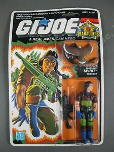 MOC 1989 GI Joe SGT Slaughters Marauders Spirit Iron-Knife v2 SEALED Figure NR