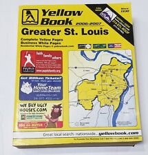 Yellow Book Greater St. Louis Area Code 314 Telephone Book 2006-2007 VERY GOOD