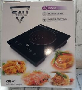 SAU Electric Induction Hob Portable Digital Touch Single Cooker Hot Plate