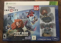 Disney Infinity Toy Box Starter Pack (2.0 Edition) - Xbox 360 NIB Open Box