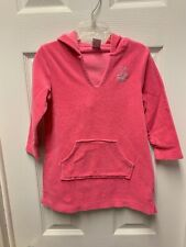 Childrens Place Terry Cloth Pink Swimsuit Cover up Size 3T