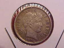 1901 P BARBER DIME - TONE - AU - SEE PICS! - (N2649)