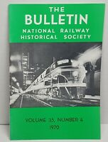 National Railway Bulletin Volume 35 1970 Vintage