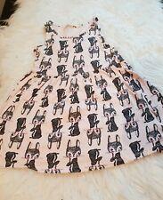Girls 2-3-4 years vest dress Tunic bunny rabbit summer beach clothes next day