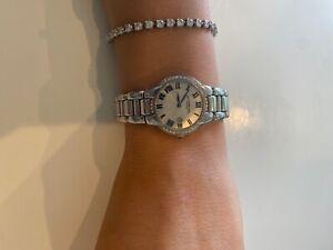 Raymond Weil 50mm Womens 5229-STS-01659 Jasmine Diamond Watch