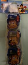 2x Paw Patrol Chase Blue Figural Easter Eggs Treat Container Party Favor 3ct