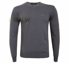 HUGO BOSS V-Neck Regular Size Jumpers for Men