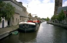 PHOTO  NETHERLANDS OUDEWATER 1990 CANAL CANAL VIEW WITH DE HOOP 3
