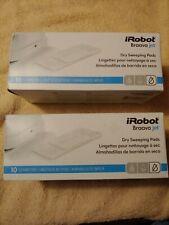 iRobot Braava jet Dry Sweeping Pads 10 pads per box. Qty 2 boxes