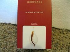 New Listing2020 Hallmark Always With You - Porcelain Shell - Bereavement