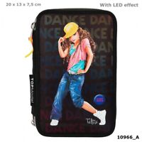 Federmappe Top Model Federtasche Top Model Dance mit Led  10966
