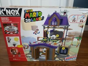 K'NEX Nintendo Super Mario 3D Land Ghost House Building Set Mario