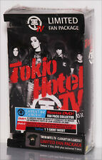 Coffret COLLECTOR Limited FAN Package, TOKIO HOTEL TV, 2 DVD + 1 T-SHIRT. NEUF