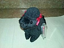 """Ty Beanie Baby 1997 """"Gigi """" The Poodle Dog (Mint With Mint Tags) Retired"""