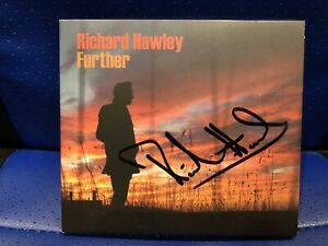 NEW SOLD OUT LIMITED EDITION HAND SIGNED RICHARD HAWLEY FURTHER CD