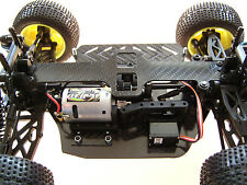 HD Carbon Chassis Set für Kyosho Mini Inferno Serie