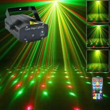 RGB Laserlicht DJ Licht Projektor LED Disco Beleuchtung für Home Party Lampe DHL