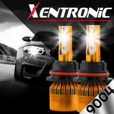 XENTRONIC LED HID Headlight kit 9004 HB1 White for 1989-1995 Plymouth Acclaim