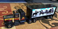 New Smokey & Bandit Decal On Vintage 1978 Tonka Semi Truck Metal Black Hawk!