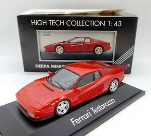 32452 HERPA / GERMANY / 10306 FERRARI TESTAROSSA ROUGE 1/43